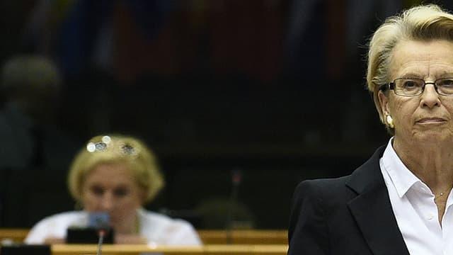 Michèle Alliot-Marie le 23 juin 2016 au Parlement européen.