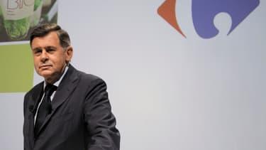 Georges Plassat est arrivée en 2012 à la tête de Carrefour