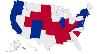 CARTE INTERACTIVE - Biden ou Trump? La carte de l'élection présidentielle américaine, état par état