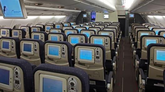 Air France veut proposer des sièges plus larges et mieux équipés aux passagers de la classe éco.