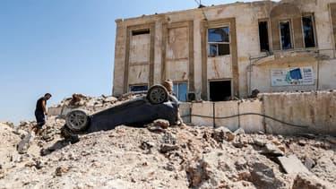 Les Etats-Unis ont mené une frappe près de la ville d'Idleb