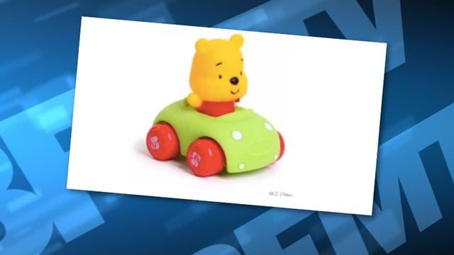 Winnie l'ourson, victime de la censure du web chinois.