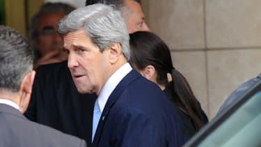 John Kerry présent à Istanbul en Turquie pour la réunion des Amis de la Syrie le 20 avril 2013.