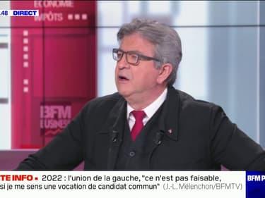 """Jean-Luc Mélenchon sur la vaccination: """"La commission européenne, ce sont des incapables"""""""