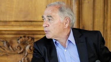 Le président PS de la région Bourgogne François Patriat, le 14 avril 2014.