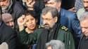 Mohsen Rezaï, secrétaire du Conseil de discernement iranien, lors d'une manifestation anti-américaine à Téhéran le 3 janvier 2020.