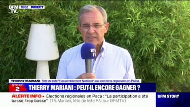 """Thierry Mariani: Renaud Muselier est """"le seul président de région qui n'arrive pas en tête à l'issue du premier tour"""""""