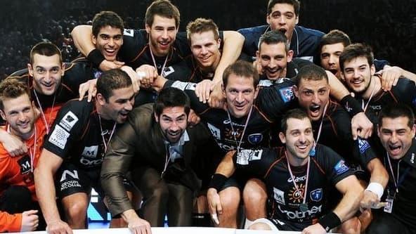 Montpellier, champion de France de handball 2012