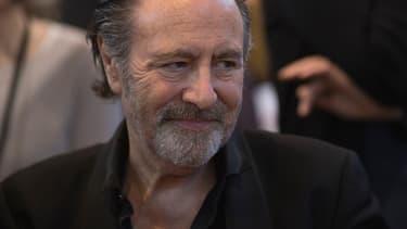 Michel Delpech, en mars 2014.