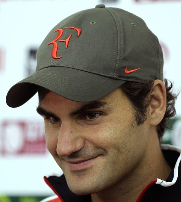 """La marque """"RF"""" de Federer"""