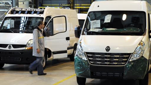Renault devait produire 25.000 utilitaires Master par an en Russie.