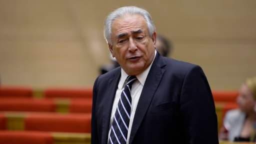 Dominique Strauss-Kahn lors de son audition au Sénat, en juin dernier.