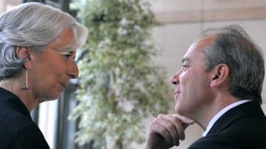 Christine Lagarde et Stéphane Richard, ici en 2010, vont se livrer bataille devant la CJR.