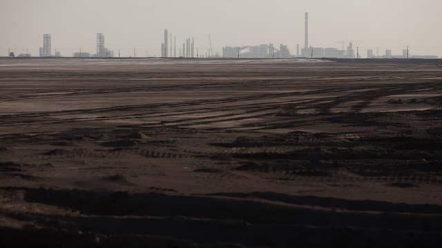 Une raffinerie de terre rare en Chine.