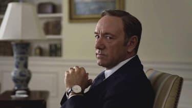"Kevin Spacey dans la série ""House of Cards"""