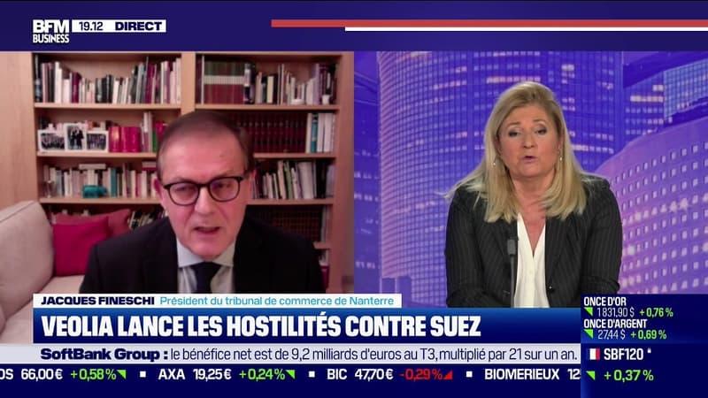 Jacques Fineschi, le Président du tribunal de commerce de Nanterre, raconte sa nuit après l'OPA de Véolia sur Suez
