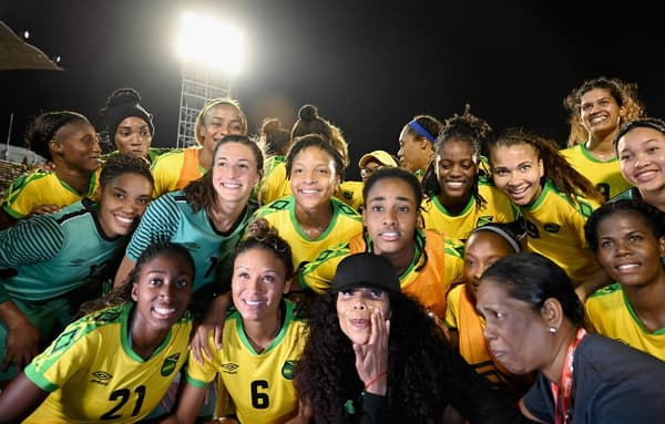 Cedella Marley et les Reggae Girlz