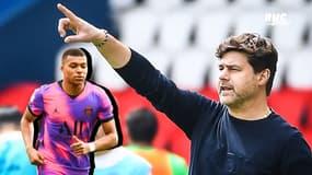 """PSG : """"J'espère que Mbappé restera longtemps avec nous"""" lance Pochettino"""