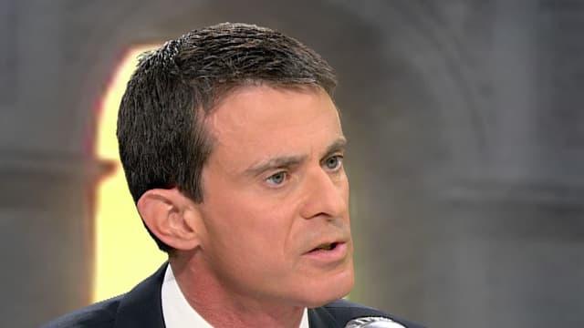 Le Premier ministre Manuel Valls, le 9 décembre 2015