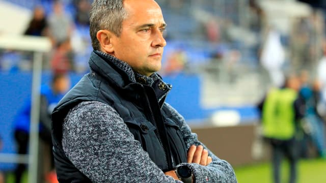 Jean-Luc Vannuchi, l'entraîneur de l'AJ Auxerre