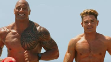 """Dwayne Johnson et Zac Efron à l'affiche de """"Baywatch"""""""