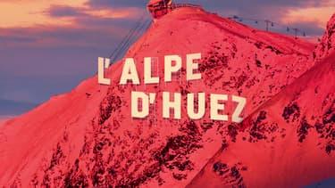 Détail de l'affiche du Festival de l'Alpe d'Huez 2019
