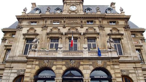 La mairie du XVIIIe arrondissement de Paris