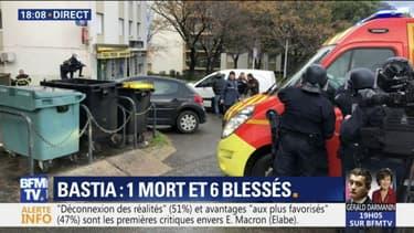 """Bastia: le député de Haute-Corse rapporte qu'""""une personne est décédée"""""""