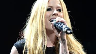 Avril Lavigne lors d'un concert à Miami, en décembre 2013