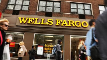 La banque américaine Wells Fargo négocie avec les autorités le paiement d'une amende.  (image d'illustration)