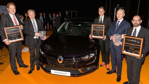 La Renault Talisman sacrée Plus Belle Voiture de l'Année au Festival Automobile International 2016.
