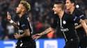 Neymar, Marco Verratti et Angel Di Maria