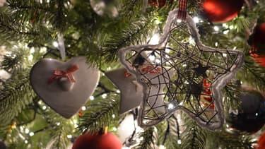 Sapin de Noël.