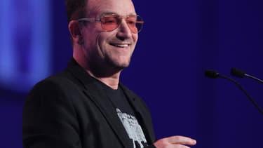 Bono à Dublin, en mars 2014.