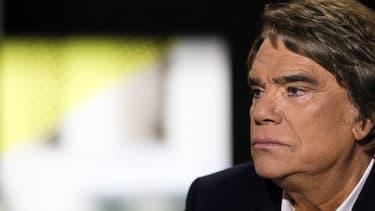 L'homme d'affaires Bernard Tapie, le 10 juillet dernier, sur le plateau de la chaîne i-Télé.