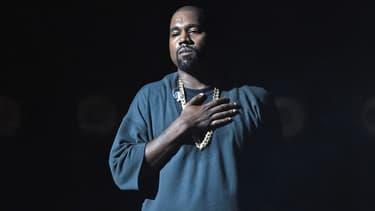 Kanye West sur scène à Las Vegas en septembre 2015.