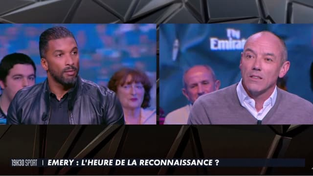 Habib Beye et Paul Le Guen