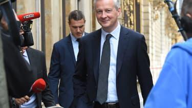 Le ministre de l'Économie et des Finances, Bruno Le Maire. (image d'illustration)