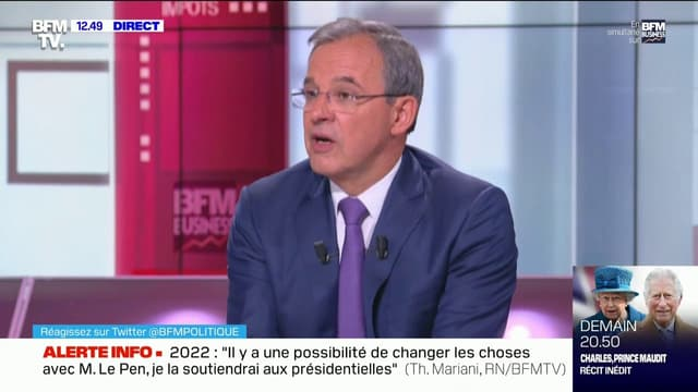 Thierry Mariani sur BFMTV
