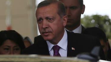 Le président turc Recep Tayyip Erdogan, le 8 juin 2015.