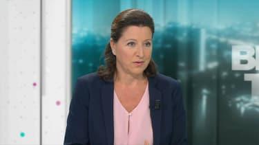 Agnès Buzyn ce lundi soir à l'antenne de BFMTV.