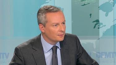 Bruno Le Maire, vendredi soir sur BFMTV.