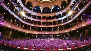 Le théâtre du Châtelet le 25 février 2006 pour la 31e édition des César