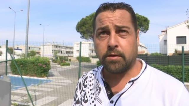 Sébastien, un client du magasin qui a désarmé l'assaillante de La Seyne-sur-Mer