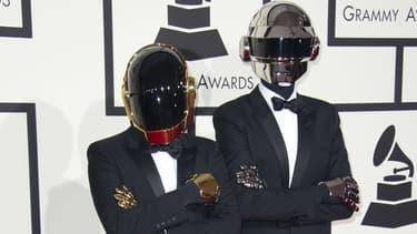 Les Daft Punk aux Grammy Awards en 2014