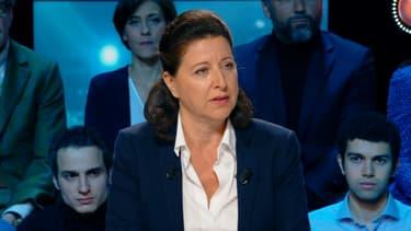 Agnès Buzyn était l'invitée de BFM Politique ce dimanche
