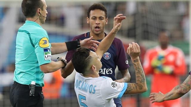 Neymar et Ocampos