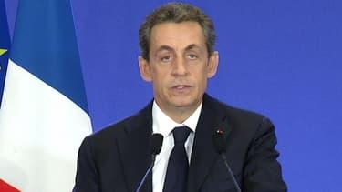 """Nicolas Sarkozy souligne le """"désaveu"""" pour le gouvernement"""