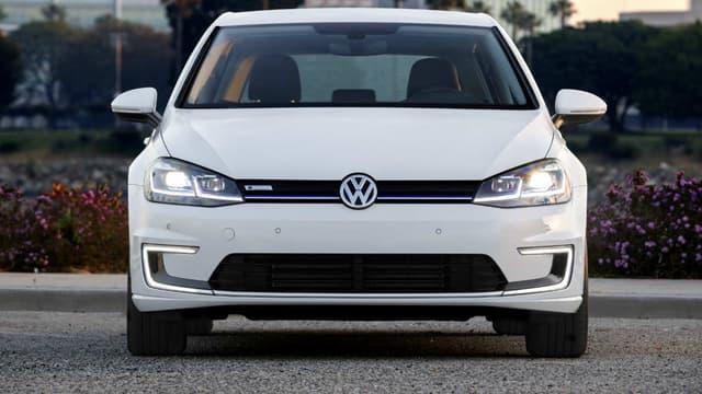 Dans le comté de Sonoma, la Volkswagen e-Golf bénéficie d'importantes aides à l'achat. (image d'illustration)