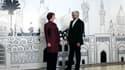 """La représentante de la diplomatie européenne Catherine Ashton et le négociateur iranien Saeed Jalili, mercredi à Bagdad. L'Iran et le """"groupe des Six"""" -les cinq pays du Conseil de sécurité de l'Onu (Chine, Etats-Unis, France, Grande-Bretagne et Russie) pl"""